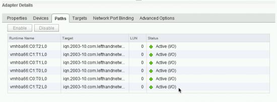 VMware Multipath