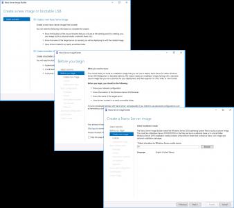 Nano Server 2016 Image Deployment