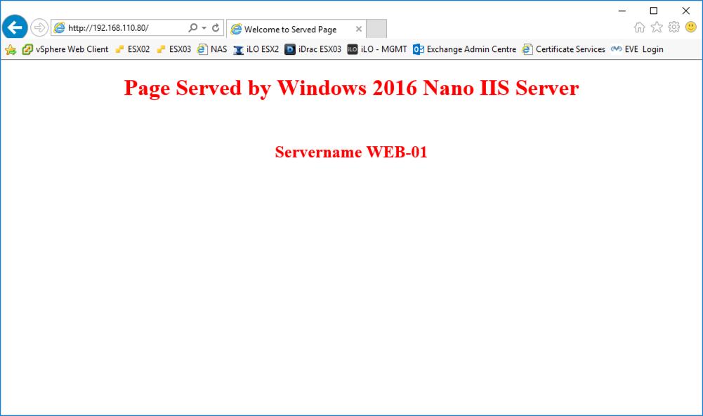 Deploying a 'Nano' Webserver (IIS) | PeteNetLive