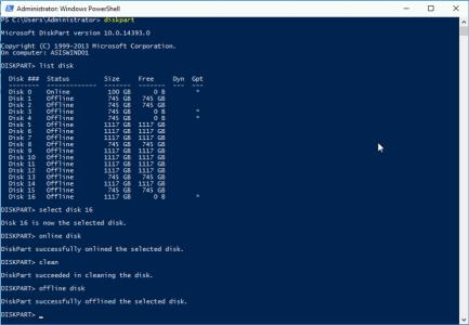 DiskPart Remove GPT Partition