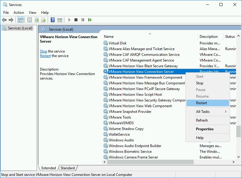 VMware Horizon - Replacing Certificates | PeteNetLive