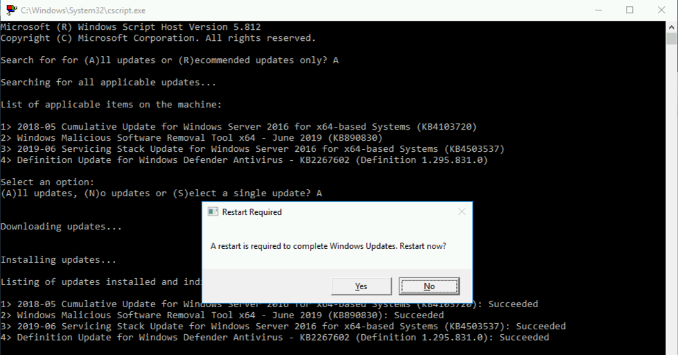 Windows 10 & Windows Server Update Error 0x800705b4 | PeteNetLive