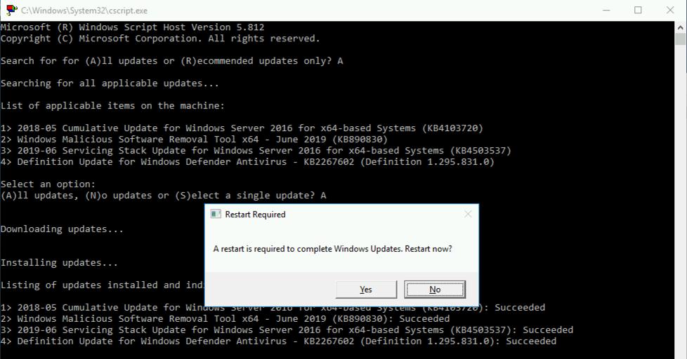 Windows 10 & Windows Server Update Error 0x800705b4