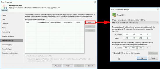 Veeam Virtual ESX Lab Proxy