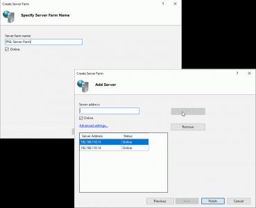 Configure ARR Server Farm