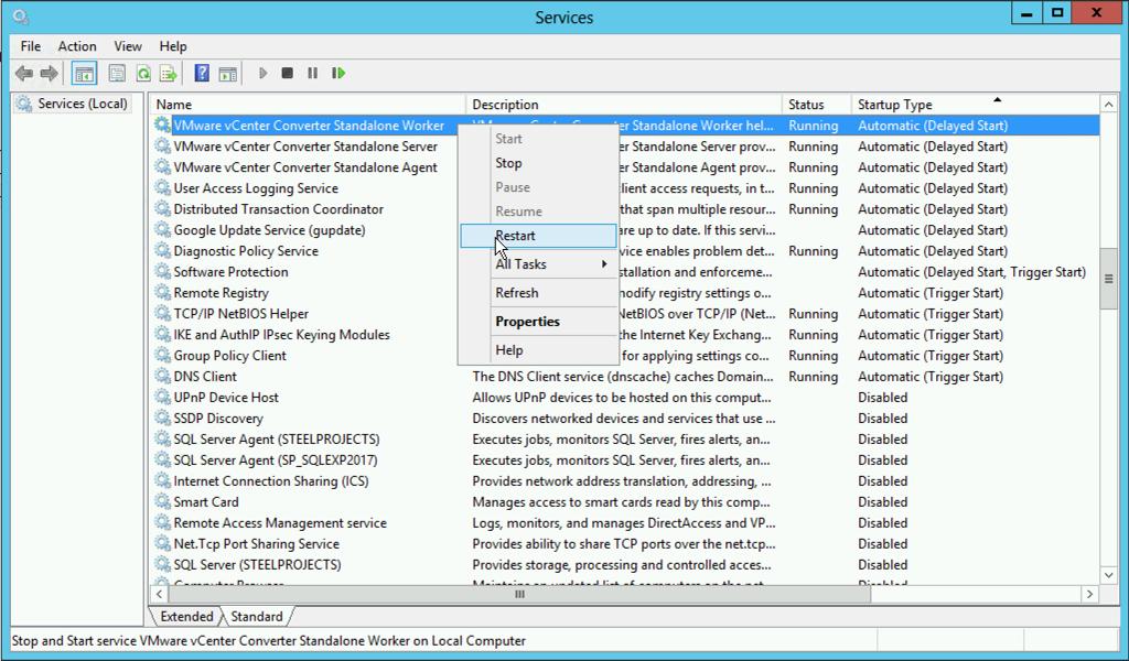 VMware Converter Slow! | PeteNetLive