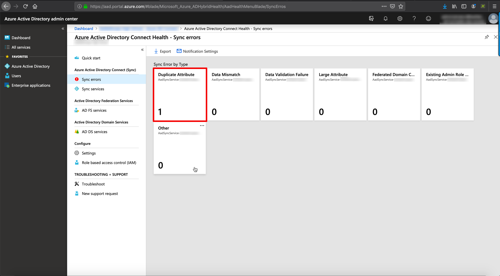 Azure AD Connect: Correct Or Remove Duplicate Values