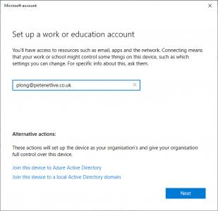 Azure Registered Windows