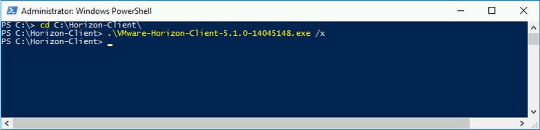 Vmware Horizon Client Version 5.0 brachryz 002-Horizon-Client-Install-Extract-MSI