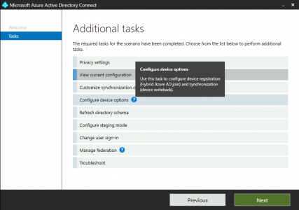Azure Hybrid AD Join AAD Connect