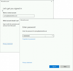 Sign Into Azure AD