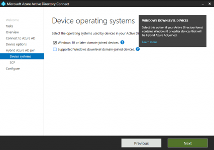 Windows 10 Hybrid Azure AD Join