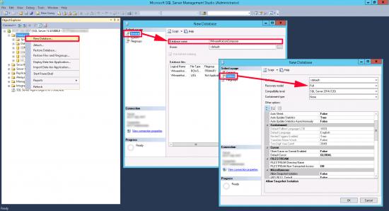 Horizon Composer SQL Database