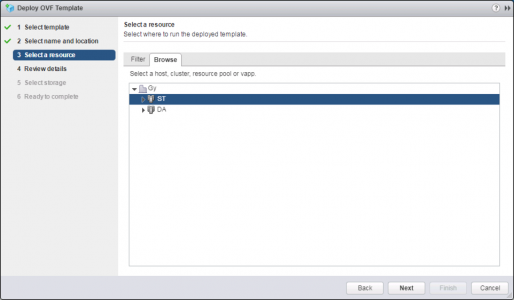 Deploy VMware UAG OVA Resource
