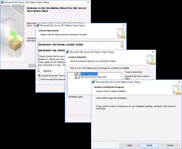 SQL Client VMware Composer