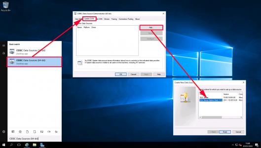 QL Client VMware Composer ODBC