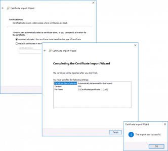 Horizon Connection Server Import Certificates