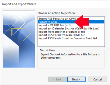 Export Email From Outlook