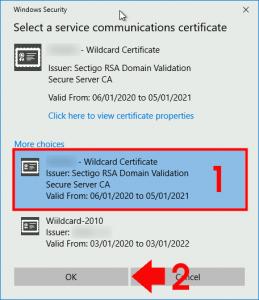 ADFS Renew Certificate