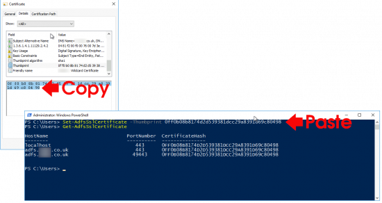 ADFS Replace Certificate PowerShell