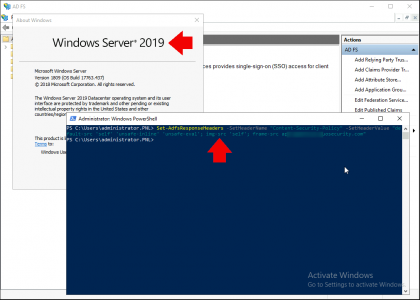 Server 2019 Duo Reponde Header AD FS