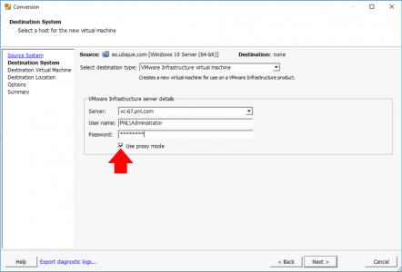 Fix VMWare Converter IO Error