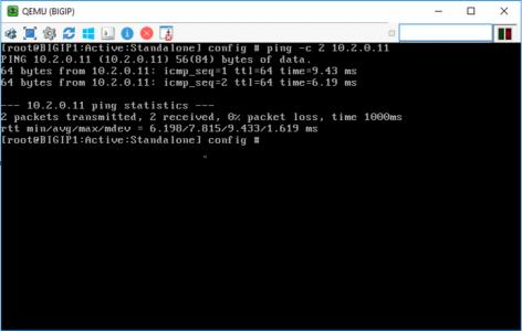 F5 Ping Web Server