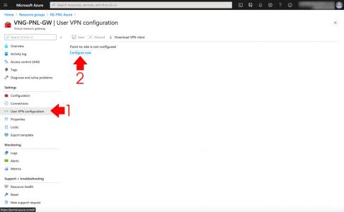 Azure Client VPN Configuration