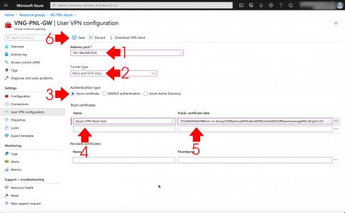 Azure Point to Site VPN