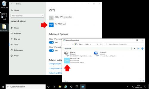 Launch Azure VPN Client