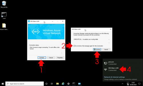 Connect Azure VPN Client