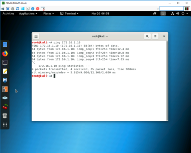 Test VPN Fortinet to Cisco