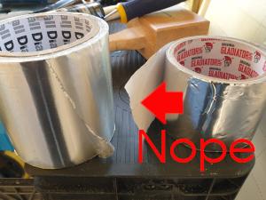 Vapur foil tape