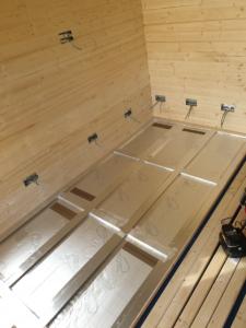 Floor Insulation Summer House