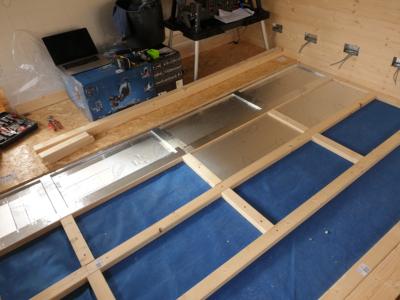 Floor Insulation Summer House complete