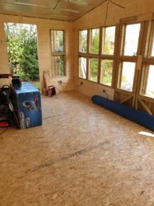 OSB Floor complete
