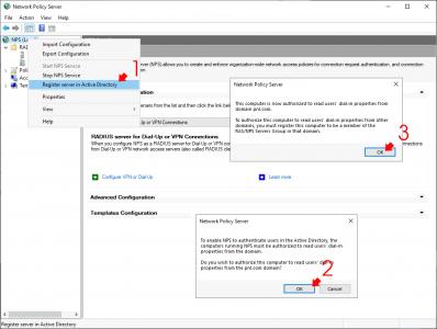 Register NPS in Active Directory