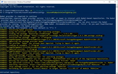 Setup NPS Extension for Azure.