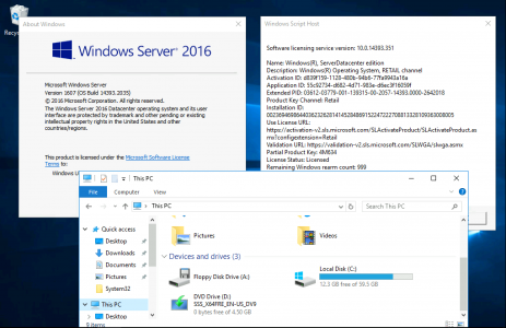 in place upgrade Windows 2016 to 2019