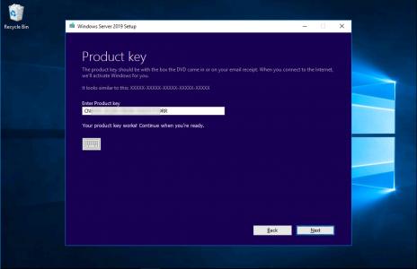 upgrade Windows 2016 to 2019